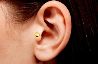 Как уменьшить голод с помощью точки на ушах