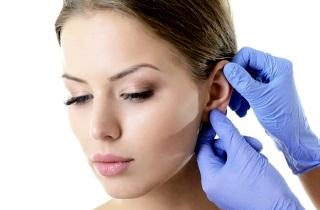 Как диагностировать атерому мочки уха