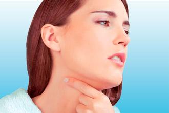 Симптомы развития рака горла