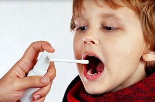 Спреи при ангине для детей