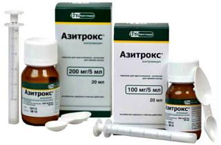 Азитрокс антибиотики