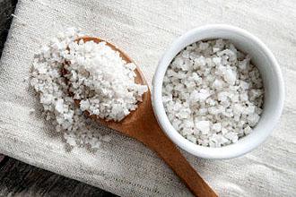 Как разводить морскую соль?
