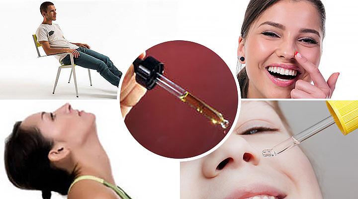Как правильно закапывать капли ребенку в нос